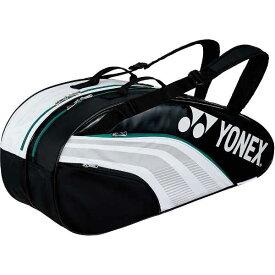 【ヨネックス】 ラケットバック6 リュック付(テニスラケット6本用) [カラー:ホワイト×ブラック] [サイズ:75×24×32cm] #BAG1932R-141 【スポーツ・アウトドア:テニス:ラケットバッグ】【YONEX】