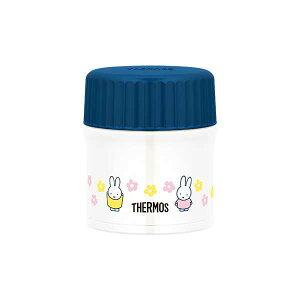 【サーモス】 真空断熱スープジャ? ミッフィー(miffy) [容量:300ml] [カラー:ネイビーピンク] #JBU-300B-NV-P 【キッチン用品:お弁当グッズ:お弁当箱:保温機能付き】【THERMOS】