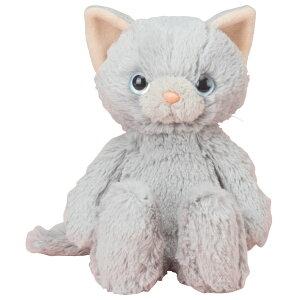 【トレンドマスタ?】 なでなでねこちゃん ロシアンブル? 【玩具:ぬいぐるみ:ネコ】【なでなでねこちゃん】【TRENDMASTER】