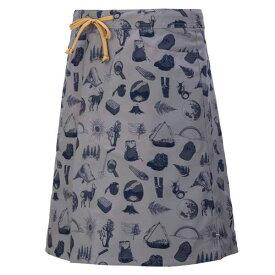 【マーモット】 ウィメンズ リバーシブルスカート(四角友里コラボ) [サイズ:L] [カラー:アンテロープ×グレーネイビー] #TOWPJE93YY-ATGN 【スポーツ・アウトドア:アウトドア:ウェア:レディースウェア:スカート】【MARMOT Ws Reversible Skirt】