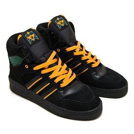 【割引クーポン有 9/30迄】 【送料無料】 アディダス スケートボーディング リバリー HI × ナケル・スミス [サイズ:29cm(US11)] [カラー:ブラック×ゴールド×グリーン] #FX2550 【アディダス: 靴 メンズ靴 スニーカー】【ADIDAS adidas Rivalry Hi×Na-Kel Smith】
