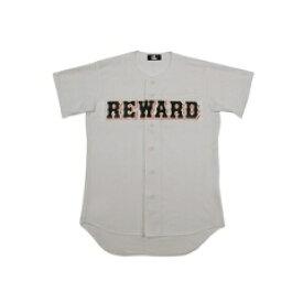 【5%offクーポン(要獲得) 1/17 20:00〜1/21 9:59まで】 フロントオープンメッシュシャツ 野球ユニフォームシャツ [カラー:グレー] [サイズ:M] #HS-10 【レワード: スポーツ・アウトドア 野球・ソフトボール ウェア】【REWARD】