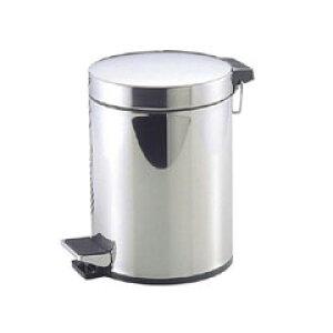 【パール金属】 ペダルペール ステンレス製 5L 【インテリア・寝具・収納:インテリア小物・置物:ゴミ箱:ゴミ袋】【PEARL METAL】