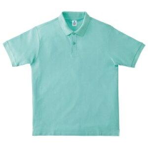 【マキシマム】 CVC鹿の子ドライポロシャツ [カラー:ミントグリーン] [サイズ:LL] #MS3113-27 【スポーツ・アウトドア:その他雑貨】【MAXIMUM】