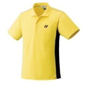 【ヨネックス】 スポーツウェア ポロシャツ(ユニセックス) 10056 [カラー:フラッシュイエロー] [サイズ:J140] #10056 【スポーツ・アウトドア:テニス:メンズウェア:ポロシャツ】【YONEX】