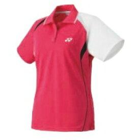 【ヨネックス】 スポーツウェア ゲームシャツ(レディース) スリムロングタイプ 20227 [カラー:ブライトピンク] [サイズ:XO] #20227 【スポーツ・アウトドア:テニス:レディースウェア:ポロシャツ】【YONEX】