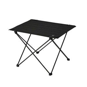 【ホールアース】 コンパクト ソロ ロール テーブル [カラー:ブラック] [サイズ:W44.5×D34.5×H33.5cm] #WE23DB48-90 【スポーツ・アウトドア:アウトドア:イス・テーブル・レジャーシート:テーブル