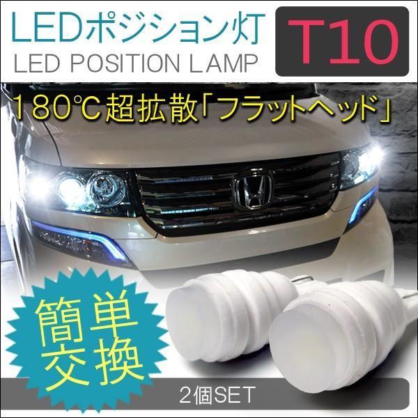 T10 T16 LEDバルブ ナンバー灯 ポジションランプ ルームランプ ヘッドライト 1W 2個セット セラミック 放熱陶器 ライセンスランプ 【ネコポス】