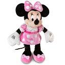 【1-2日以内に発送!】USディズニー公式商品(Disney) 【約30cm】ミニーマウス ぬいぐるみ ピンク 人形[並行輸入品] Minnie Mouse P...
