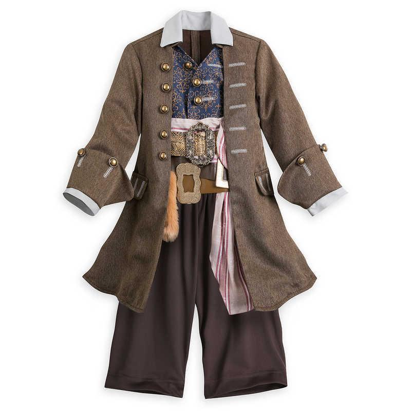 【1-2日以内に発送】 ディズニー Disney US公式商品 ジャックスパロー パイレーツオブカリビアン コスチューム 衣装 子供用 ドレス 服 コスプレ ハロウィン ハロウィーン 子供 キッズ 女の子 男の子 [並行輸入品] Captain Jack Sparrow Costume for Kids グッズ ストア