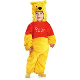 【あす楽】ディズニー Disney くまのプーさん コスチューム 衣装 コスプレ 仮装 きぐるみ 着ぐるみ キグルミ 服 ハロウィン ハロウィーン ベビー 幼児 赤ちゃん 男の子 女の子 子供 [並行輸入品] Winnie The Pooh Deluxe Two-Sided Plush Jumpsuit Infant