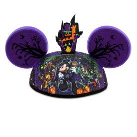 【あす楽】ディズニー Disney US公式商品 ミッキーマウス ハット 帽子 キャップ イヤーハット 【サイズ:大人子供兼用】 ホーンテッドマンション ハロウィン ハロウィーン 耳ハット 耳キャップ ミッキー 耳 [並行輸入品] Mickey Mouse Ear Hat - The Haunte