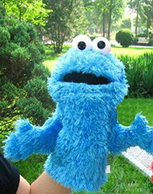 【あす楽】セサミストリート クッキーモンスター 操り人形 【大人の手用】 人形 手人形 指人形 ハンドパペット ぬいぐるみ パペット 片手 [並行輸入品] Sesame Street Cookie Monster