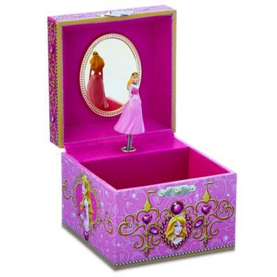 【1-2日以内に発送】ディズニー Disney US公式商品 眠れる森の美女 オーロラ姫 プリンセス ジュエリーボックス 入れ物 箱 ケース おもちゃ アクセサリー ジュエリー ミュージカル オルゴール [並行輸入品] Aurora Musical Jewelry Box