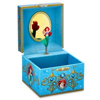 【あす楽】ディズニー Disney US公式商品 リトルマーメイド アリエル Ariel プリンセス ジュエリーボックス アクセサリー ジュエリー ミュージカル [並行輸入品] Musical Jewelry Box