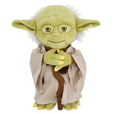 【あす楽】ディズニー Disney US公式商品 ヨーダ スターウォーズ プラッシュ ぬいぐるみ 人形 おもちゃ 【小サイズ】 22.5cm [並行輸入品] Yoda Plush - Star Wars Small 9''