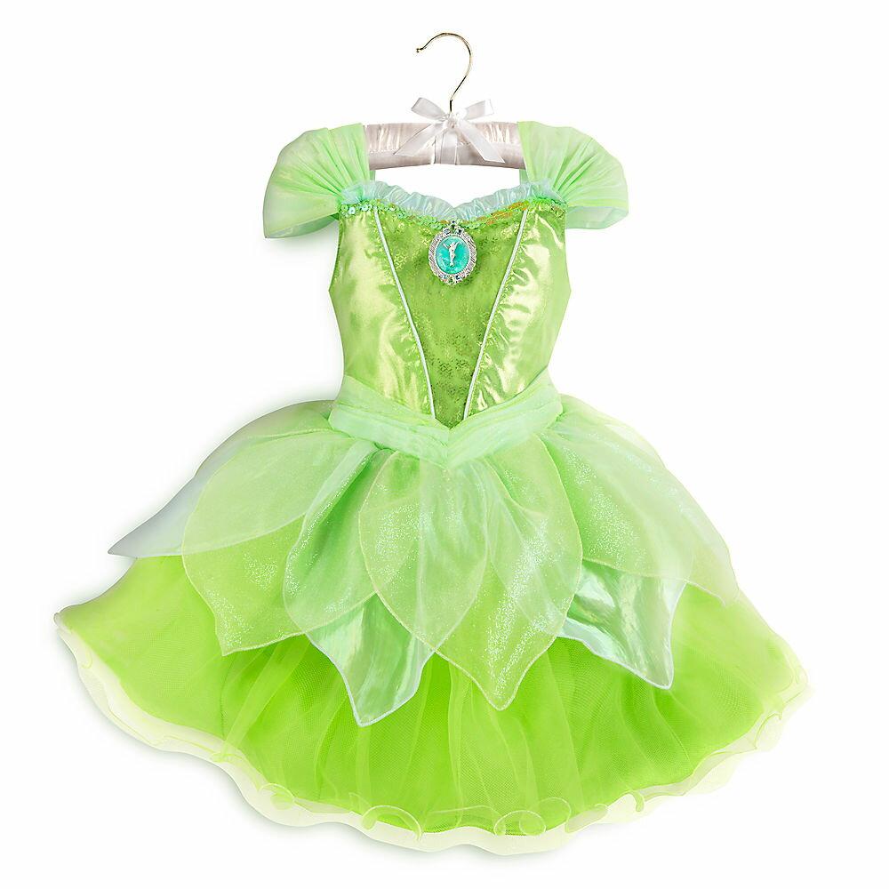 【1-2日以内に発送】 ディズニー(Disney)US公式商品 ティンカーベル コスチューム 衣装 ドレス 服 コスプレ ハロウィン ハロウィーン 光る ライトアップ 服 コスプレ 子供用 キッズ 女の子 男の子 [並行輸入品] Tinker Bell Light-Up Costume for Kids