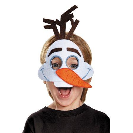 【あす楽】ディズニー Disney オラフ アナ雪 アナと雪の女王 マスク お面 コスプレ 仮装 フェルト 衣装 コスチューム 被り物 かぶりもの 子供 男の子 女の子 [並行輸入品] Olaf Felt Mask Toddlers グッズ ストア プレゼント ギフト クリスマス 誕生日