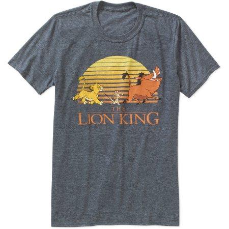 【あす楽】 ディズニー Disney US公式商品 ライオンキング Tシャツ 【メンズUS M(日本のLくらい)のみ】 洋服 トップス 服 メンズ 大人 男性用 [並行輸入品] lion king tee mens