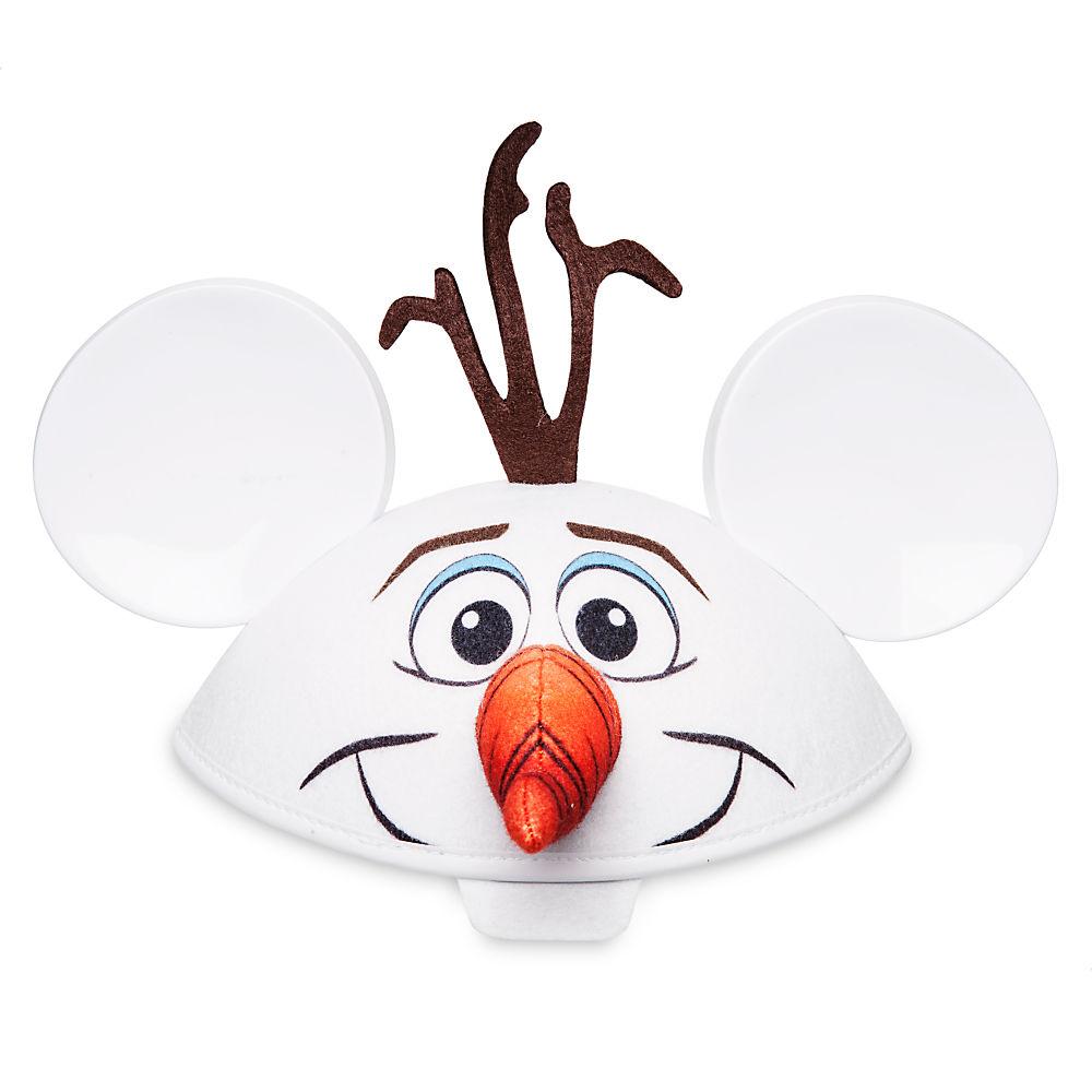【1-2日以内に発送】ディズニー Disney US公式商品 オラフ アナ雪 アナと雪の女王 フローズン ハット 帽子 キャップ イヤーハット ミッキー 耳 大人用 [並行輸入品] Olaf Ear Hat for Adults グッズ ストア プレゼント ギフト 誕生日 人気 クリスマス 誕生日 プレゼ