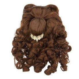 【あす楽】ディズニー Disney US公式商品 美女と野獣 ベル プリンセス ウィッグ 付け毛 コスチューム ハロウィーン 衣装 ドレス 服 コスプレ ハロウィン 服 コスプレ 子供用 キッズ 女の子 [並行輸入品] Belle Costume Wig for Kids