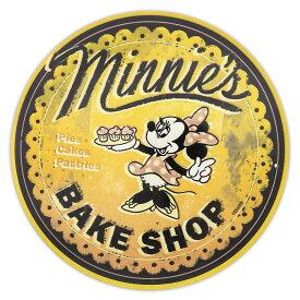 【取寄せ】 ディズニー Disney US公式商品 ミニーマウス ウォールサイン 壁掛け サインボード サイン 標識 標示 [並行輸入品] Minnie's Bake Shop Wall Sign グッズ ストア プレゼント ギフト 誕生日 人気 クリスマス 誕生日 プレゼント ギ