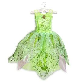 【1-2日以内に発送】 ディズニー Disney US公式商品 ティンカーベル ピーターパン コスチューム 衣装 ドレス 服 コスプレ ハロウィン ハロウィーン 服 コスプレ 子供 キッズ 女の子 【注意:羽は付属しません】 [並行輸入品] Tinker Bell Costume for Kids - Peter Pa