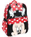 【1-2日以内に発送】【L】 ディズニー Disney ミニー ミニーマウス リボン リュックサック リュック 旅行 バッグ バッ…