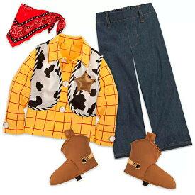 【1-2日以内に発送】USディズニー公式商品 Disney トイストーリー ウッディ コスチューム 衣装 コスプレ ハロウィン ハロウィーン 男の子 ボーイズ 子供用 [並行輸入品] Woody Costume for Boys - Toy Story