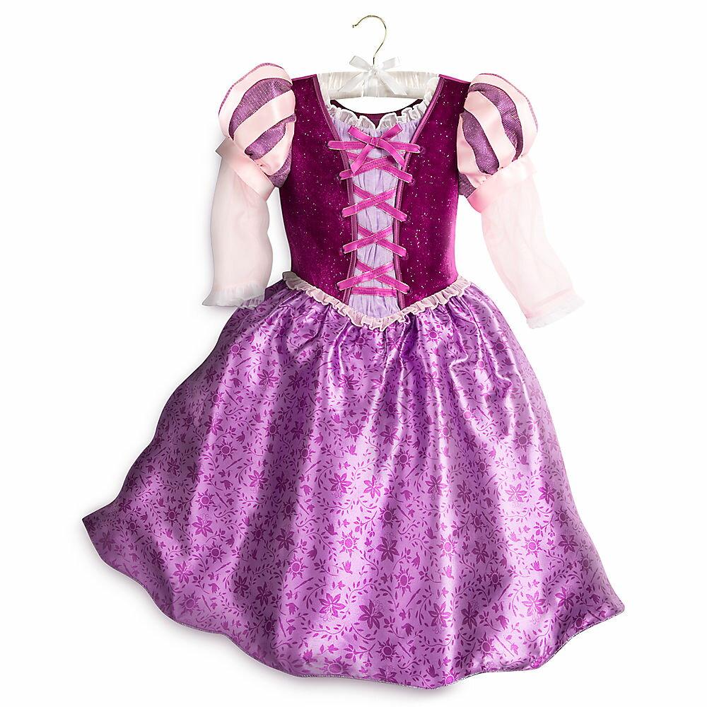 【1-2日以内に発送】ディズニー Disney US公式商品 塔の上のラプンツェル プリンセス コスチューム 衣装 ドレス 服 コスプレ ハロウィン ハロウィーン 服 コスプレ 子供用 キッズ 女の子 男の子 [並行輸入品] Rapunzel Costume for Kids - Tangled: The Series グ