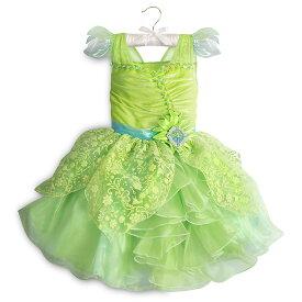 【あす楽】ディズニー Disney US公式商品 ティンカーベル コスチューム 衣装 ドレス 服 コスプレ ハロウィン ハロウィーン 服 コスプレ 子供用 キッズ 女の子 【注意:羽は付属しません】[並行輸入品] Tinker Bell Costume for Kids グッズ ストア
