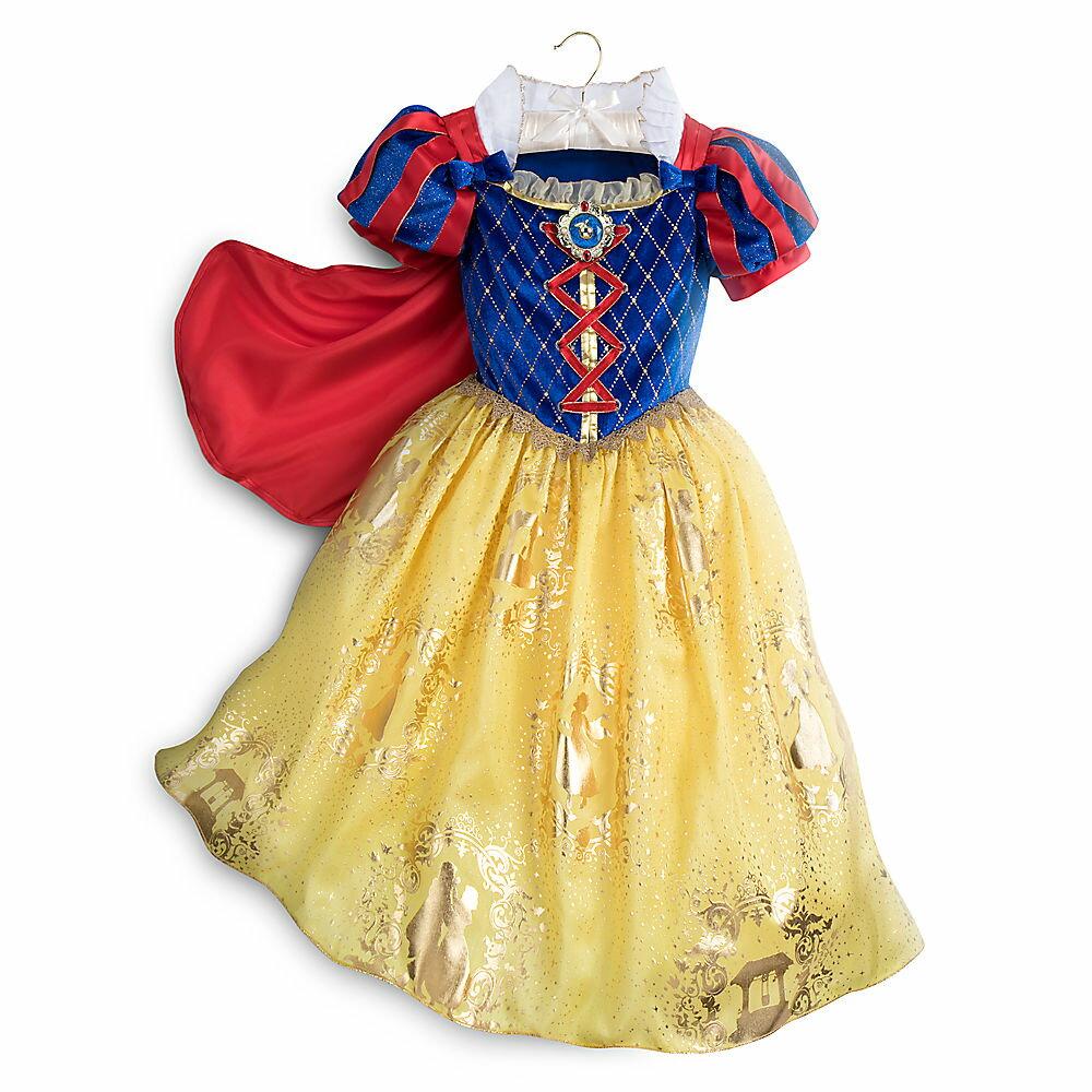 【あす楽】 ディズニー(Disney)US公式商品 白雪姫 7人の小人たち プリンセス コスチューム 衣装 ドレス 服 コスプレ ハロウィン ハロウィーン 服 コスプレ 子供用 キッズ 女の子 男の子 [並行輸入品] Snow White Costume for Kids グッズ ストア プレゼン