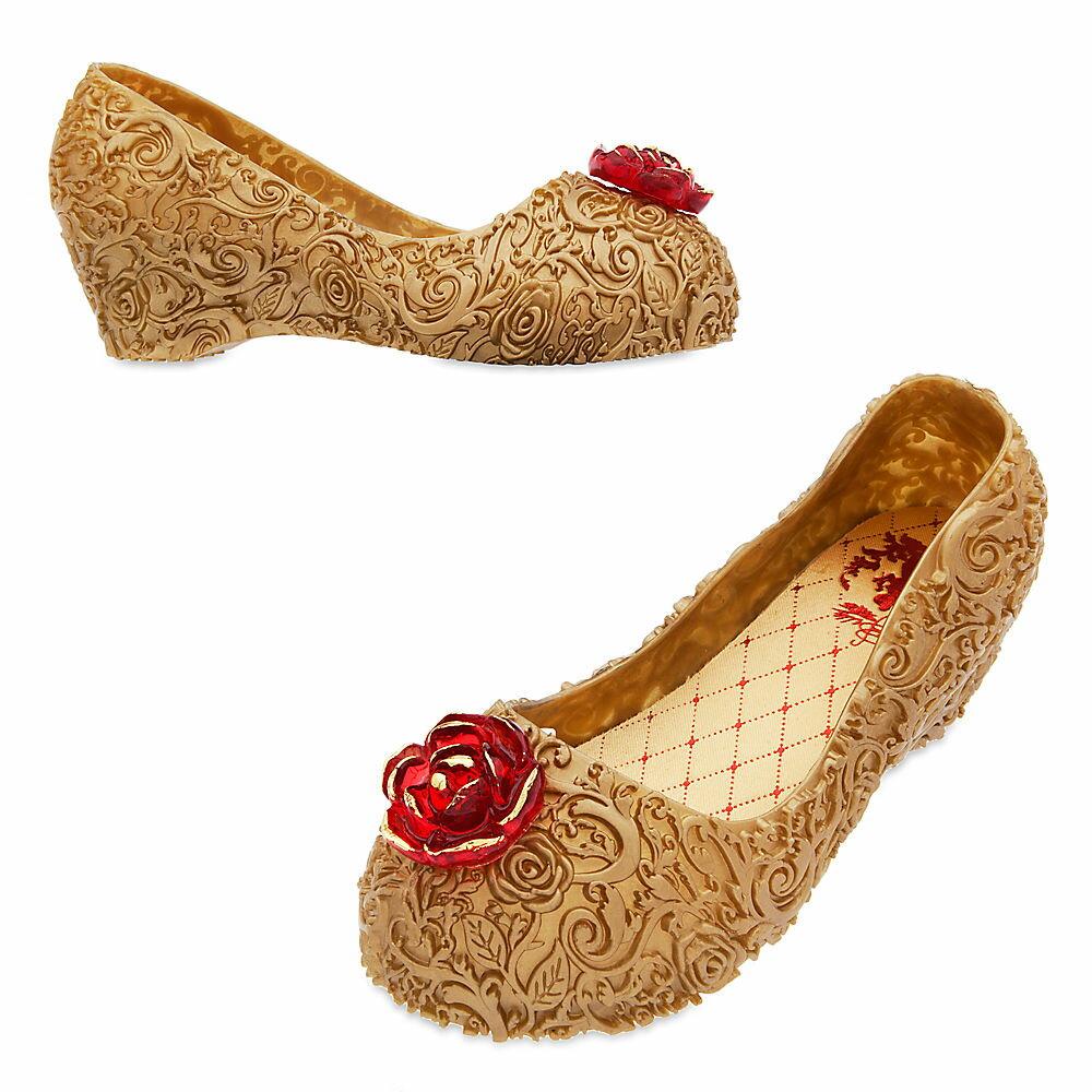 【あす楽】 ディズニー(Disney)US公式商品 美女と野獣 ベル プリンセス 靴 シューズ くつ コスチューム 衣装 コスプレ ドレス 服 コスプレ ハロウィン ハロウィーン 子供用 キッズ 女の子 男の子 [並行輸入品] Belle Costume Shoes for Kids グッズ スト
