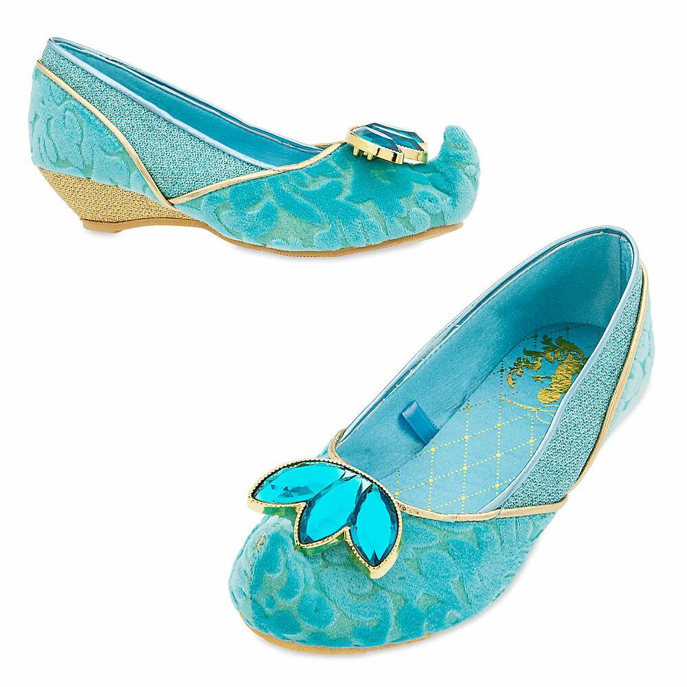 【1-2日以内に発送】ディズニー Disney US公式商品 アラジン ジャスミン プリンセス 靴 シューズ くつ コスチューム 衣装 コスプレ ドレス 服 コスプレ ハロウィン ハロウィーン 子供用 キッズ 女の子 男の子 [並行輸入品] Jasmine Costume Shoes for Kids グッズ
