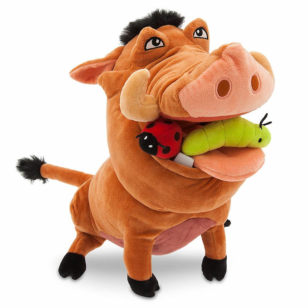 【あす楽】 ディズニー Disney US公式商品 ライオンキング プンバァ ぬいぐるみ 人形 おもちゃ 【中サイズ】 [並行輸入品] Pumbaa Plush - The Lion King Medium 12 1/2'' グッズ ストア プレゼント ギフト 誕生日 人気 クリスマス 誕生日 プレゼント