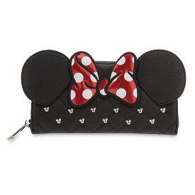【1-2日以内に発送】ディズニー Disney US公式商品 ミニー ミニーマウス 財布 サイフ ウォレット さいふ ラウンジフライ [並行輸入品] Minnie Mouse Icon Wallet by Loungefly グッズ ストア プレゼント ギフト 誕生日 人気 クリスマス 誕生日 プレゼント ギフト