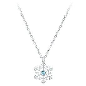 【あす楽】 ディズニー Disney US公式商品 アナと雪の女王 アナ雪 プリンセス ネックレス ジュエリー アクセサリー スワロフスキー クリスタル [並行輸入品] Frozen Swarovski Crystal Snowflake Necklace グッズ ストア プレゼント ギフト クリスマス 誕生日