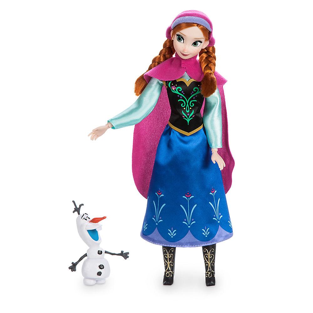 【あす楽】ディズニー Disney US公式商品 アナと雪の女王 フローズン プリンセス オラフ フィギュア 置物 人形 クラシックドール ドール おもちゃ Kristoff [並行輸入品] Anna Classic Doll with Olaf Figure - 11 1/2'' グッズ ストア プレゼント ギフ