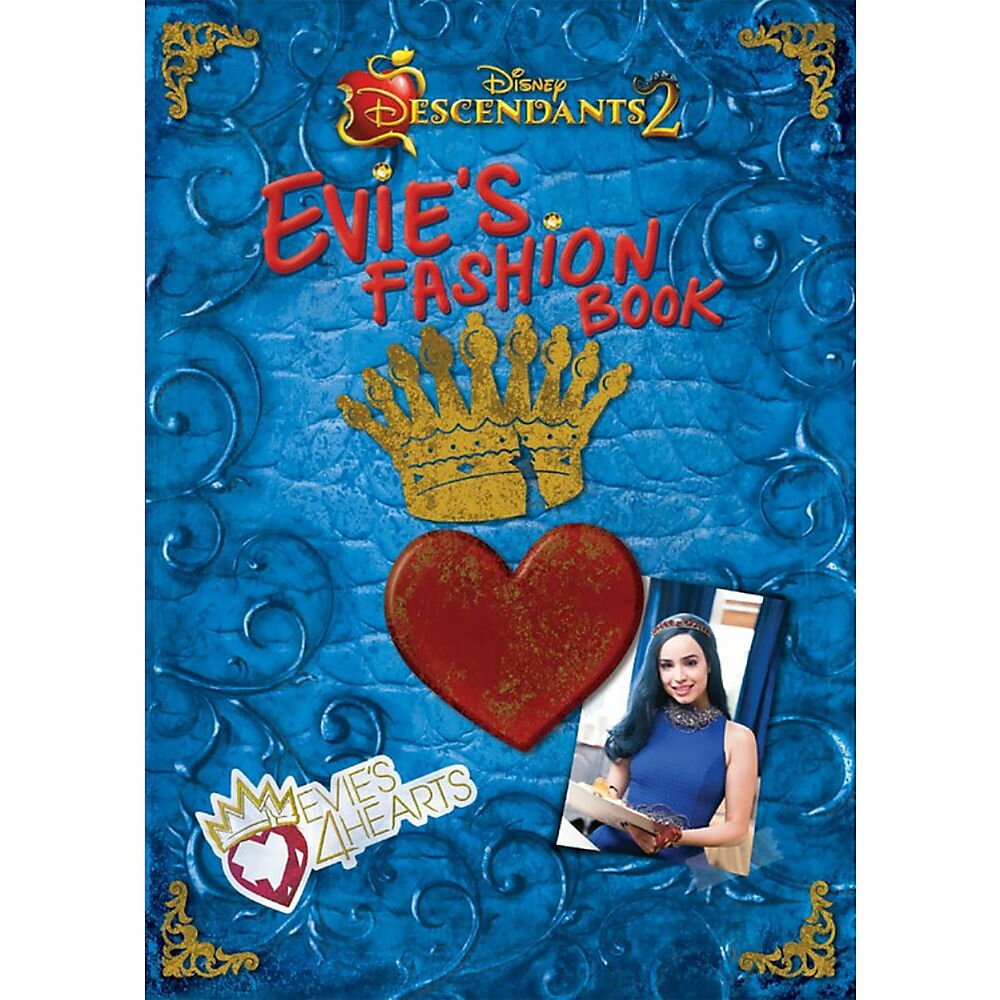 【取寄せ】 ディズニー Disney US公式商品 ディセンダント イヴィ ファッションブック ファッション ディセンダンツ 本 【洋書】 【英語】 [並行輸入品] Descendants 2: Evie's Fashion Book グッズ ストア プレゼント ギフト クリスマス