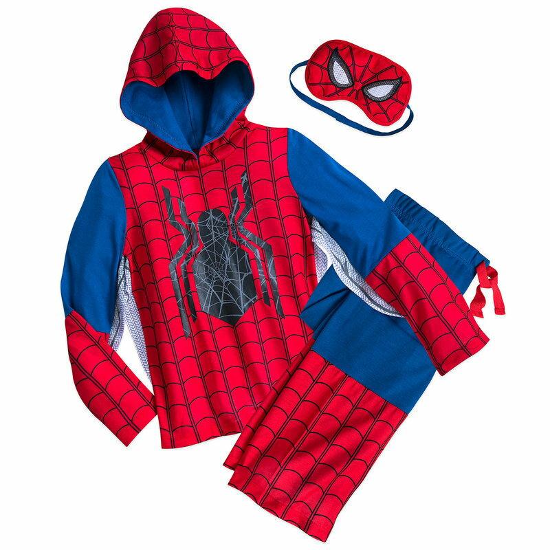 【1-2日以内に発送】ディズニー Disney US公式商品 スパイダーマン パジャマ 寝巻き 部屋着 服 コスチューム 衣装 ドレス コスプレ ハロウィン ハロウィーン 服 コスプレ セット 男の子用 子供 寝具 男の子 ボーイズ [並行輸入品] Spider-Man Deluxe Costume Slee