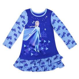 【あす楽】 ディズニー Disney US公式商品 アナ雪2 アナと雪の女王 アナ雪 2 プリンセス アナ エルサ パジャマ 寝巻き 部屋着 服 女の子用 子供用 女の子 ガールズ 子供 [並行輸入品] Elsa Nightshirt for Girls ? Frozen グッズ ストア プレゼント ギフト ク