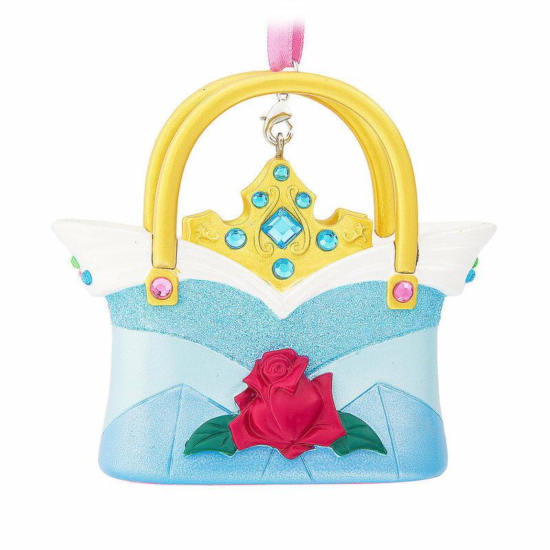 【取寄せ】 ディズニー Disney US公式商品 眠れる森の美女 オーロラ姫 プリンセス オーナメント クリスマスツリー 飾り デコレーション ハンドバッグ バック 鞄 手提げ かばん [並行輸入品] Aurora Handbag Ornament グッズ ストア プレゼント ギフト 誕生日 人気 クリス