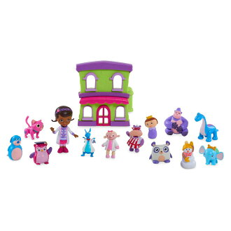 60d712cf49e The Disney Disney US formula product dock is popular Christmas birthday  present on toy doctor figure skating ornament doll toy set  parallel import  goods  ...