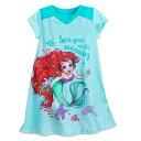 【1-2日以内に発送】 ディズニー Disney US公式商品 リトルマーメイド アリエル Ariel プリンセス パジャマ 寝巻き 部…