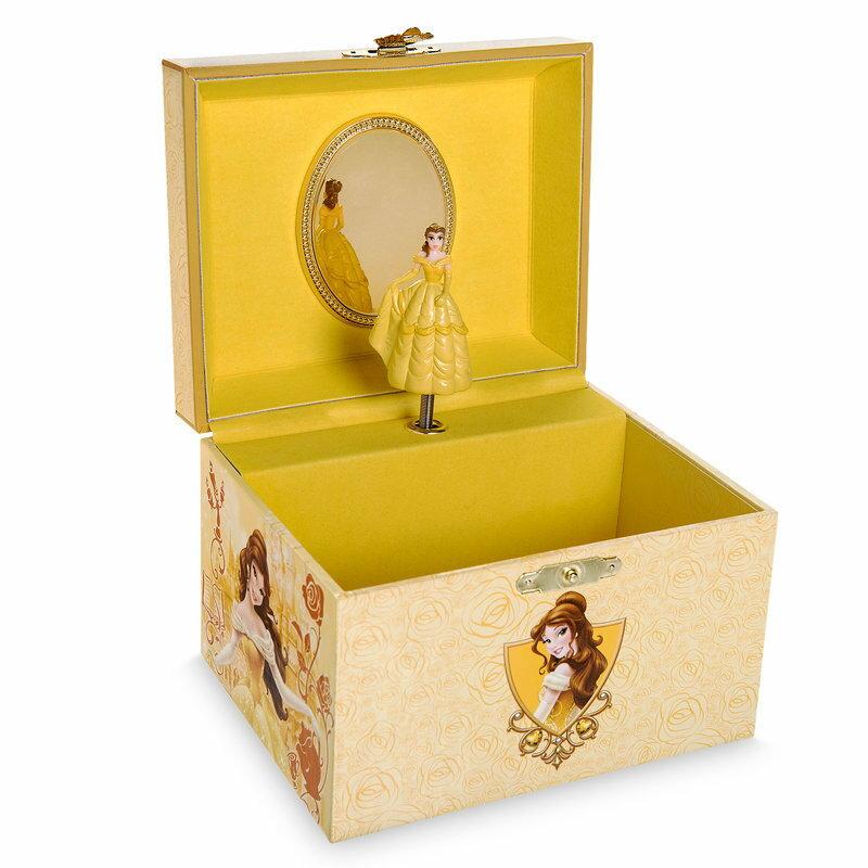 【あす楽】 ディズニー Disney US公式商品 美女と野獣 ベル プリンセス ジュエリーボックス 箱 入れ物 ケース ボックス アクセサリー ジュエリー ミュージカル [並行輸入品] Belle Musical Jewelry Box グッズ ストア プレゼント ギフト 誕生日 人気 クリス