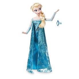 【1-2日以内に発送】 ディズニー Disney US公式商品 アナと雪の女王 アナ雪 アナ エルサ プリンセス クラシックドール 人形 指輪付き 指輪 リング おもちゃ フィギュア [並行輸入品] Elsa Classic Doll with Ring - Frozen 11 1/2'' グッズ ストア プレゼント ギフト