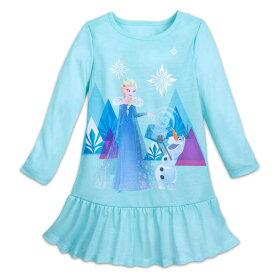 【あす楽】 ディズニー Disney US公式商品 アナと雪の女王 アナ雪 アナ エルサ プリンセス パジャマ 寝巻き 部屋着 服 女の子用 子供用 女の子 ガールズ 子供 [並行輸入品] Elsa Nightshirt for Girls - Frozen グッズ ストア プレゼント ギフト 誕生日 人気 クリスマス