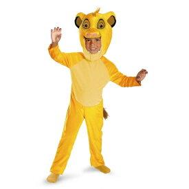 【あす楽】 ディズニー Disney シンバ ライオンキング Simba Lion King コスチューム 衣装 仮装 コスプレ きぐるみ 着ぐるみ ハロウィン ハロウィーン 男子 男児 子供用 ボーイズ [並行輸入品] SIMBA CLASSIC Toddlers