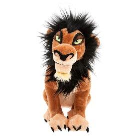 【1-2日以内に発送】 ディズニー Disney US公式商品 ライオンキング スカー 中サイズ ぬいぐるみ 人形 おもちゃ 35cm [並行輸入品] Scar Plush - The Lion King Medium 14'' グッズ ストア プレゼント ギフト クリスマス 誕生日 人気