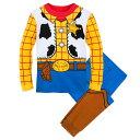 【取寄せ】 ディズニー Disney US公式商品 ウッディ トイストーリー カウボーイ パジャマ 寝巻き 部屋着 服 コスチュ…